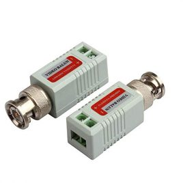 Single Channel Passive Video Transceiver for Balun CCTV Camera/DVR BNC UTP