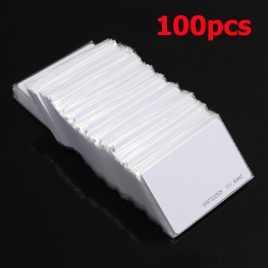 100 Pieces of Radio Frequency Identification Card – RFID CARD