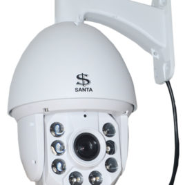 SANTA 7″ PTZ Speed Dome IP Camera With Power Cable