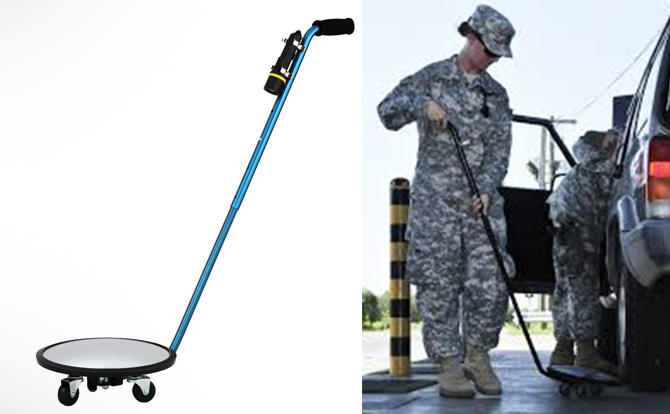 See All Inspection Mirror - Under Vehicle Search Mirror - Tonimarth | Online Shopping - Security Gadgets