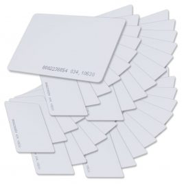 SANTA Contactless 125kHz EM4100 RFID Proximity ID Smart Entry Access Card (Pack of 100)